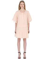 See By Chloe Cotton Voile Dress With Ties