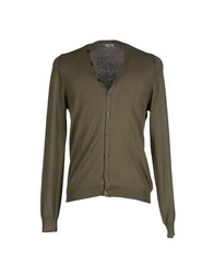 Imperial Star Imperial Knitwear Cardigans Men Military Green