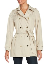 Karl Lagerfeld Double Breasted Trench Coat Cafe