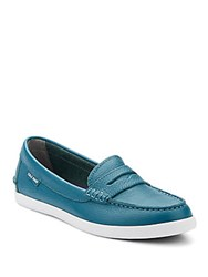 Cole Haan Nantucket Leather Loafers Ernest Teal