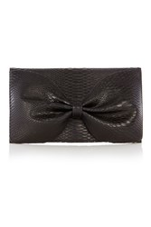 Coast Textured Bow Bag Black