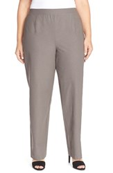 Plus Size Women's Eileen Fisher Washable Stretch Crepe Knit Pants