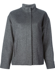 Barbara Bui Short Coat Grey