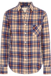 R 13 R13 Check Cotton Blend Shirt Multi