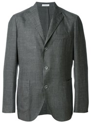 Boglioli Plaid Sport Jacket Grey