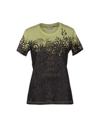 One T Shirt Short Sleeve T Shirts Light Green