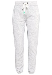 Abercrombie And Fitch Tracksuit Bottoms Heather Grey Mottled Grey