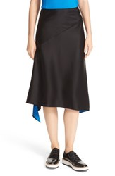 Dkny Women's Angled Seam Reversible Asymmetrical Skirt