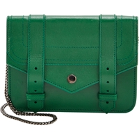 Proenza Schouler Ps1 Large Chain Wallet Green