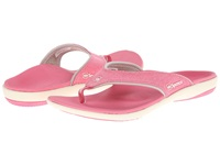 Spenco Yumi Canvas Pink Women's Toe Open Shoes