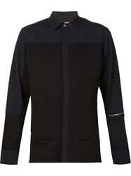 Tim Coppens Panelled Shirt Black