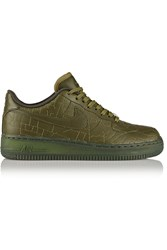 Nike Air Force 1 London Leather Sneakers Green