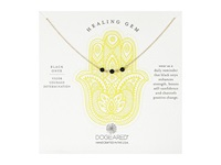 Dogeared Triple Healing Gem Onyx Necklace Gold Filled Necklace