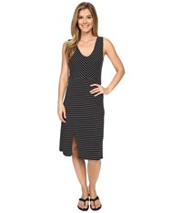 Carve Designs Meadow Dress Black Stripe Women's Dress
