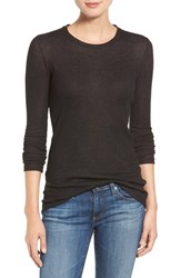 Ag Jeans Women's 'Logan' Ribbed Cotton Cashmere Tee
