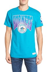 Mitchell And Ness Men's Hornets Graphic T Shirt