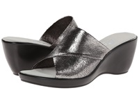 Onex Deena Pewter Krinkle Women's Wedge Shoes