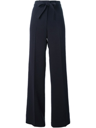 Tory Burch Wide Leg Trousers Blue