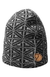 Fjall Raven Men's Fjallraven Frost Wool Beanie Grey Dark Grey
