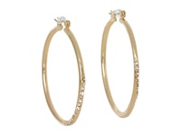 Guess Hoop With Stones Earring Gold Earring