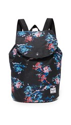 Herschel Reid Backpack Floral Blur Black