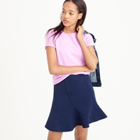 J.Crew Collection Cashmere Short Sleeve Tee