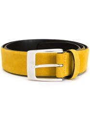 Andrea D'amico Suede Belt Yellow And Orange