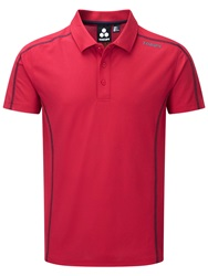 Tog 24 Huxley Plain Classic Fit Short Sleeve Shirt Red