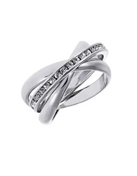 Michela Three Piece Band Rings Silver