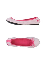 Butterfly Twists Ballet Flats Light Pink