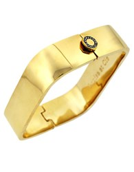 Louise Et Cie Goldtone Square Bangle Bracelet