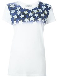 Valentino 'Star Studded' T Shirt White