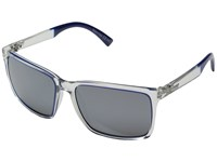 Von Zipper Lesmore Crysal Cobalt Dip Grey Chrome Sport Sunglasses White