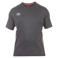 Canterbury Of New Zealand Vapodri Superlight Logo T Shirt Grey
