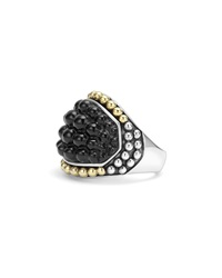 Lagos Black Caviar Onyx Dome Ring