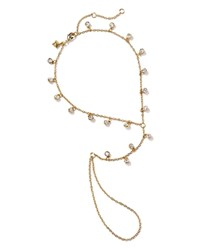 Rebecca Minkoff Shimmering Foot Chain Gold