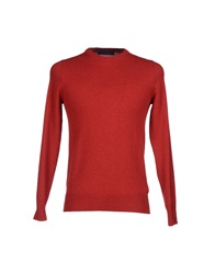 Les Copains Sweaters Brick Red