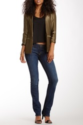 Hudson Jeans Carly Mid Rise Straight Jean Blue