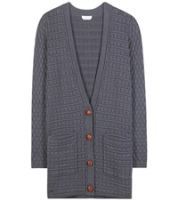 See By Chloe Cotton Cardigan Blue
