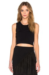 Lucy Paris Urban Crop Black