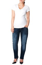 Plus Size Women's Noppies 'Mena Comfort' Over The Belly Straight Leg Maternity Jeans