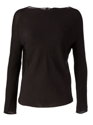 Ilaria Nistri Slash Neck T Shirt