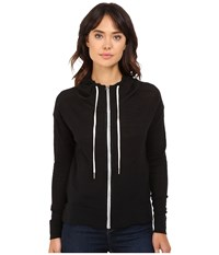 Bench Thursoeast Zip Up Sweater Jet Black Women's Sweater