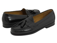 Cole Haan Pinch Tassel Black Men's Slip On Dress Shoes