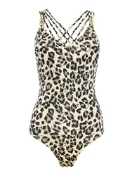 Biba Animal Kayla Swimsuit Multi Coloured