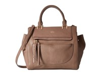 Vince Camuto Ayla Satchel Smokey Quart Satchel Handbags Tan