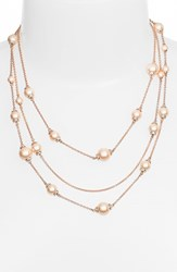 Women's Kate Spade New York 'Pearls Of Wisdom' Faux Pearl Strand Necklace