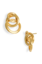 Marco Bicego 'Jaipur' Cluster Earrings Yellow Gold