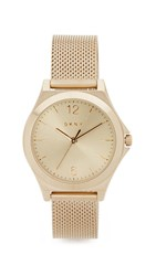 Dkny Parsons Watch Gold Stainless Steel