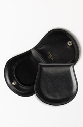Bosca 'Old Leather' Coin Purse Black